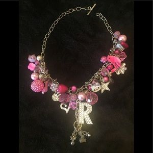"""Jewelry - Adorable little girls necklace """"R""""."""